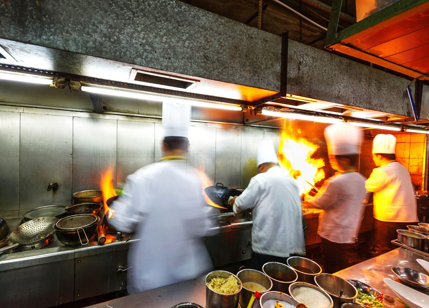 Busy Restaurant Kitchen It's All About The Flow  The Restaurant Manifesto