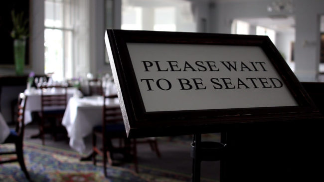 Please Wait To Be Seated The Restaurant Manifesto